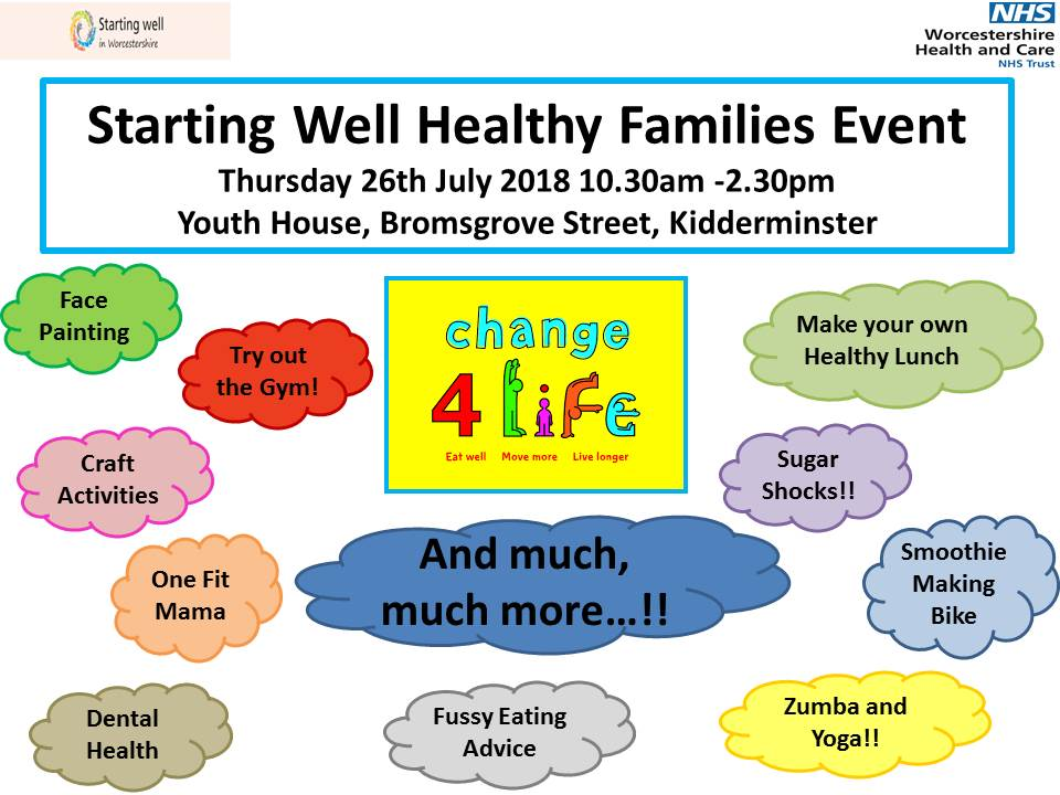 Starting Well Healthy Families Event