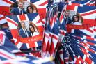Souvenirs in Windsor ahead of the wedding of Prince Harry and Meghan Markle on Saturday (Gareth Fuller/PA)