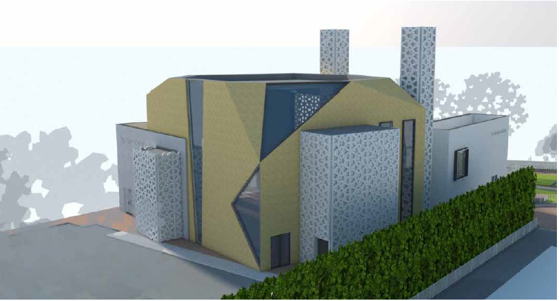 MOSQUE: Plans for a new mosque in Stanley Road look set to be approved by councillors at a planning meeting next week. Photo: One Ltd Media