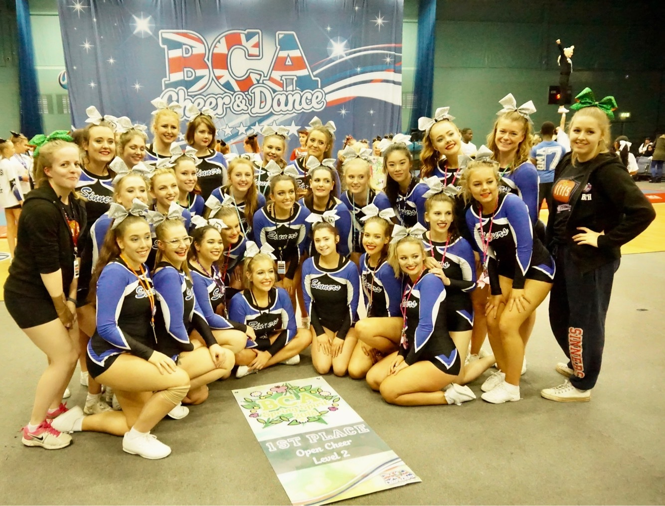 Worcester Sinners cheerleaders find more success after awards win