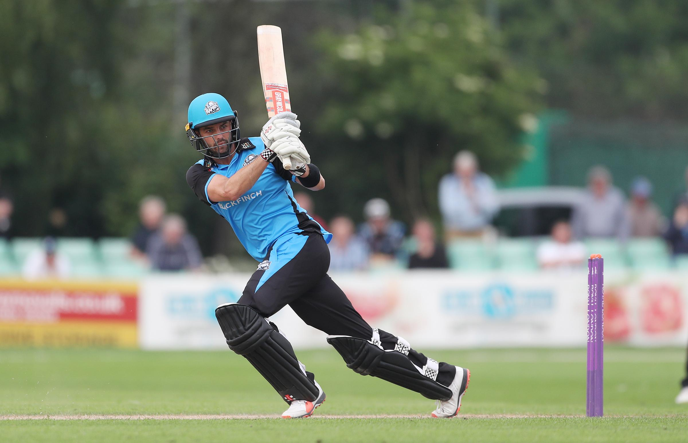 Worcestershire's Callum Ferguson during the North Group match of the Royal London One Day Cup at New Road, Worcester..