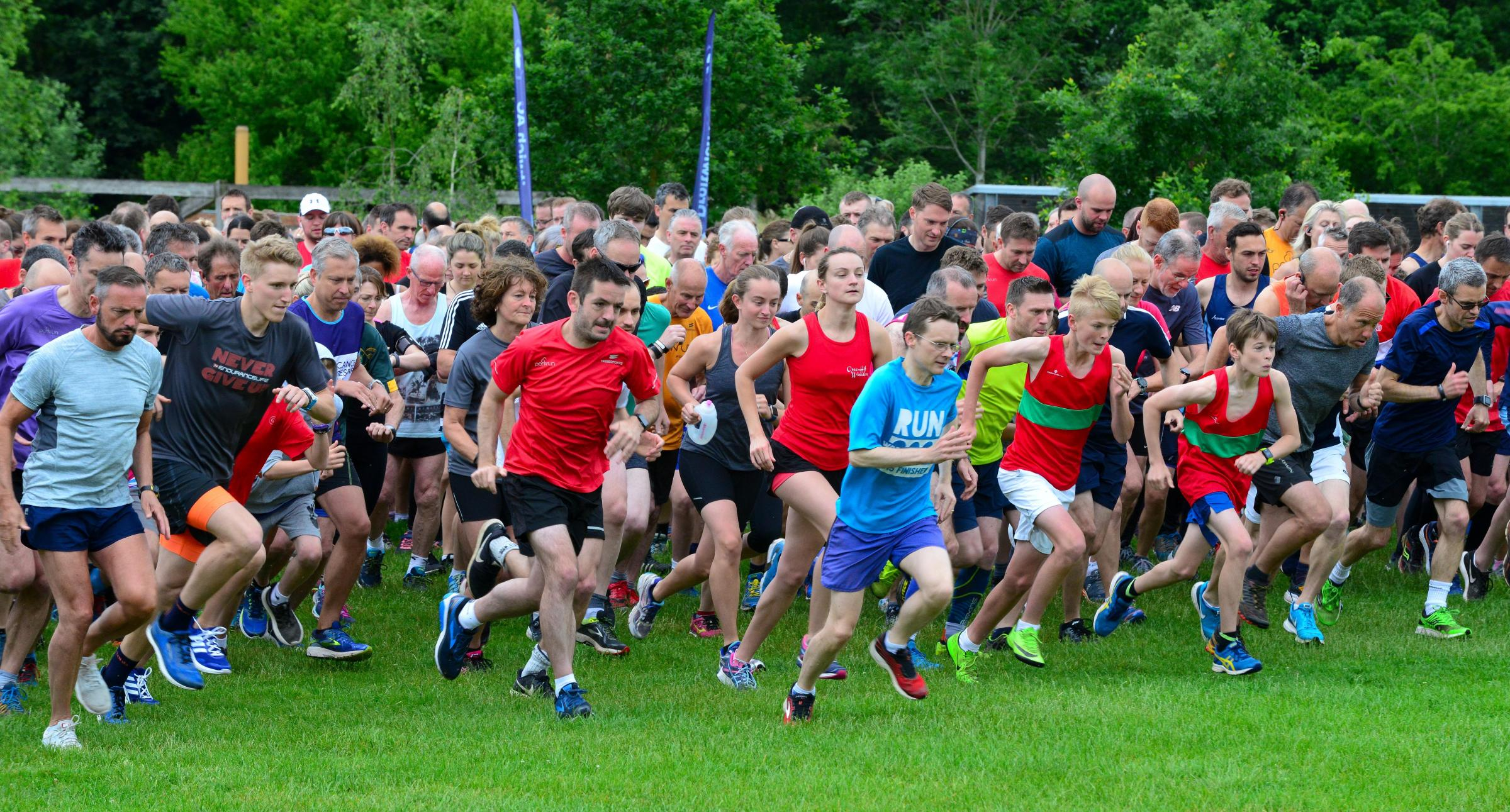 WNJAWoodsrun....5K Fun Run at Worcester Woods Country Park on Saturday morning.