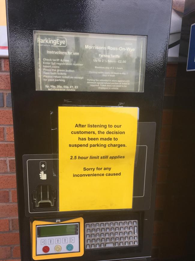 Morrisons Scraps Car Parking Charge Worcester News
