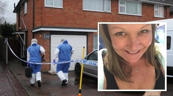 Melanie Clark was stabbed to death at her home in Cloverdale, Stoke Prior