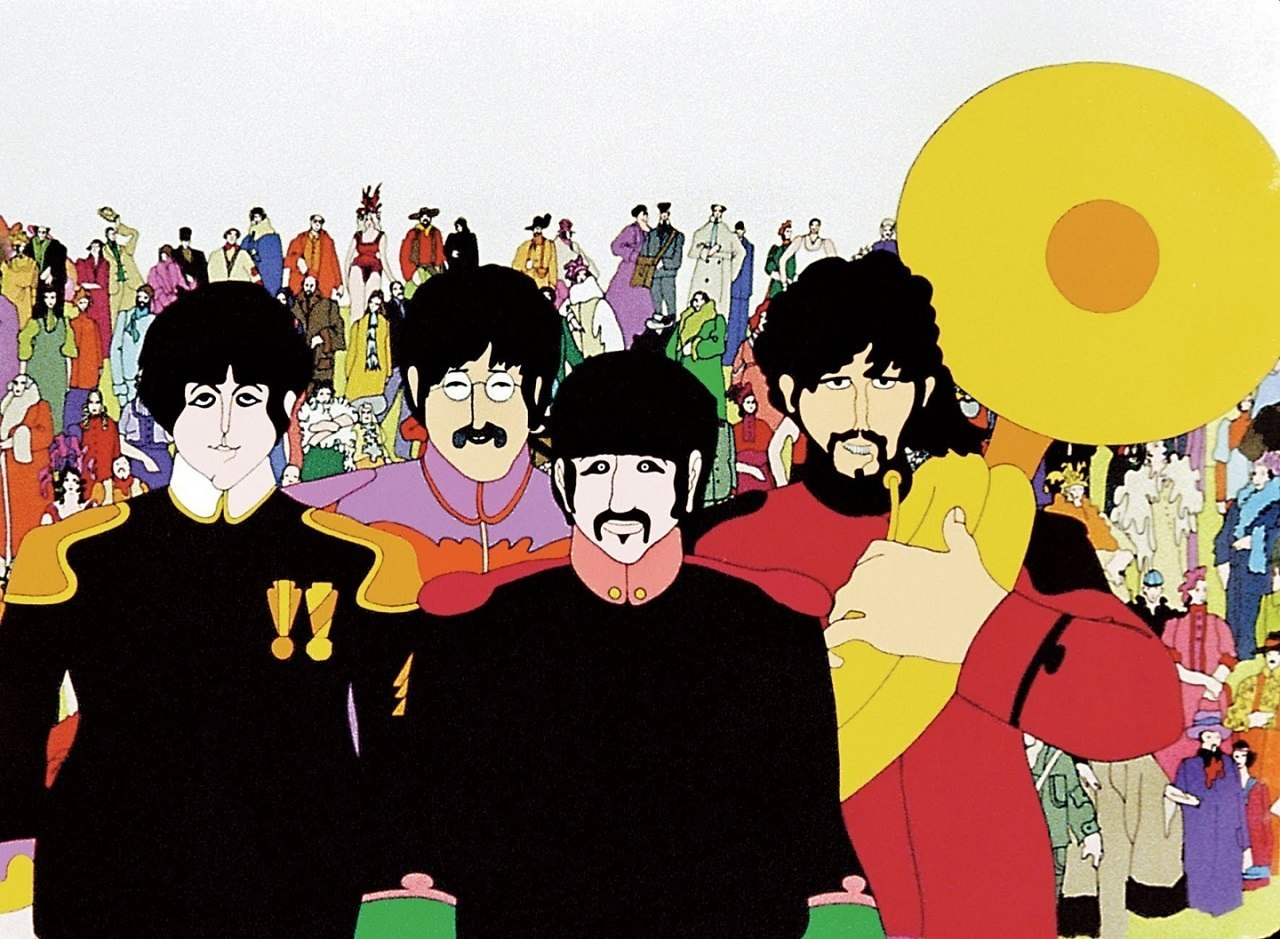 ICONIC: A still from Yellow Submarine