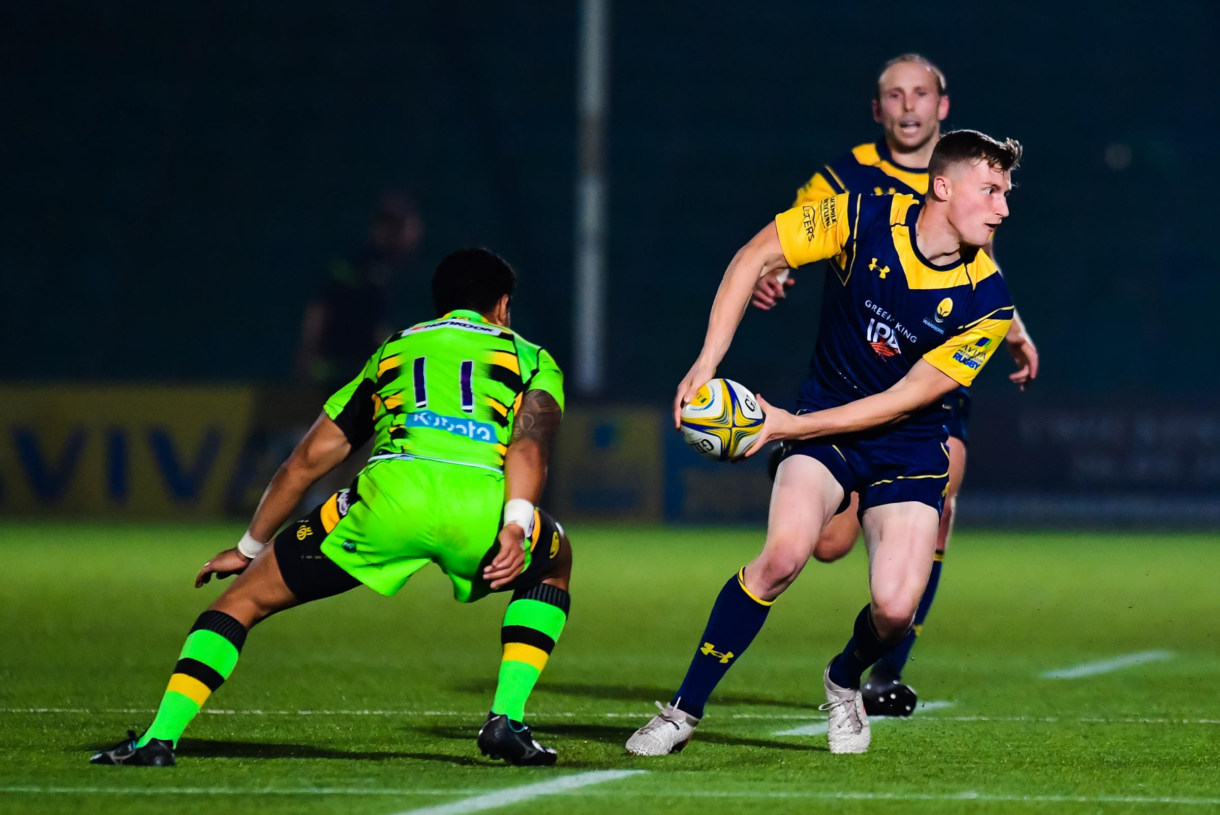 Alex Hearle of Worcester Cavaliers in action - Mandatory by-line: Craig Thomas/JMP - 25/09/2017 - RUGBY - Sixways Stadium - Worcester, England - Worcester Cavaliers v Northampton Wanderers - Aviva A League