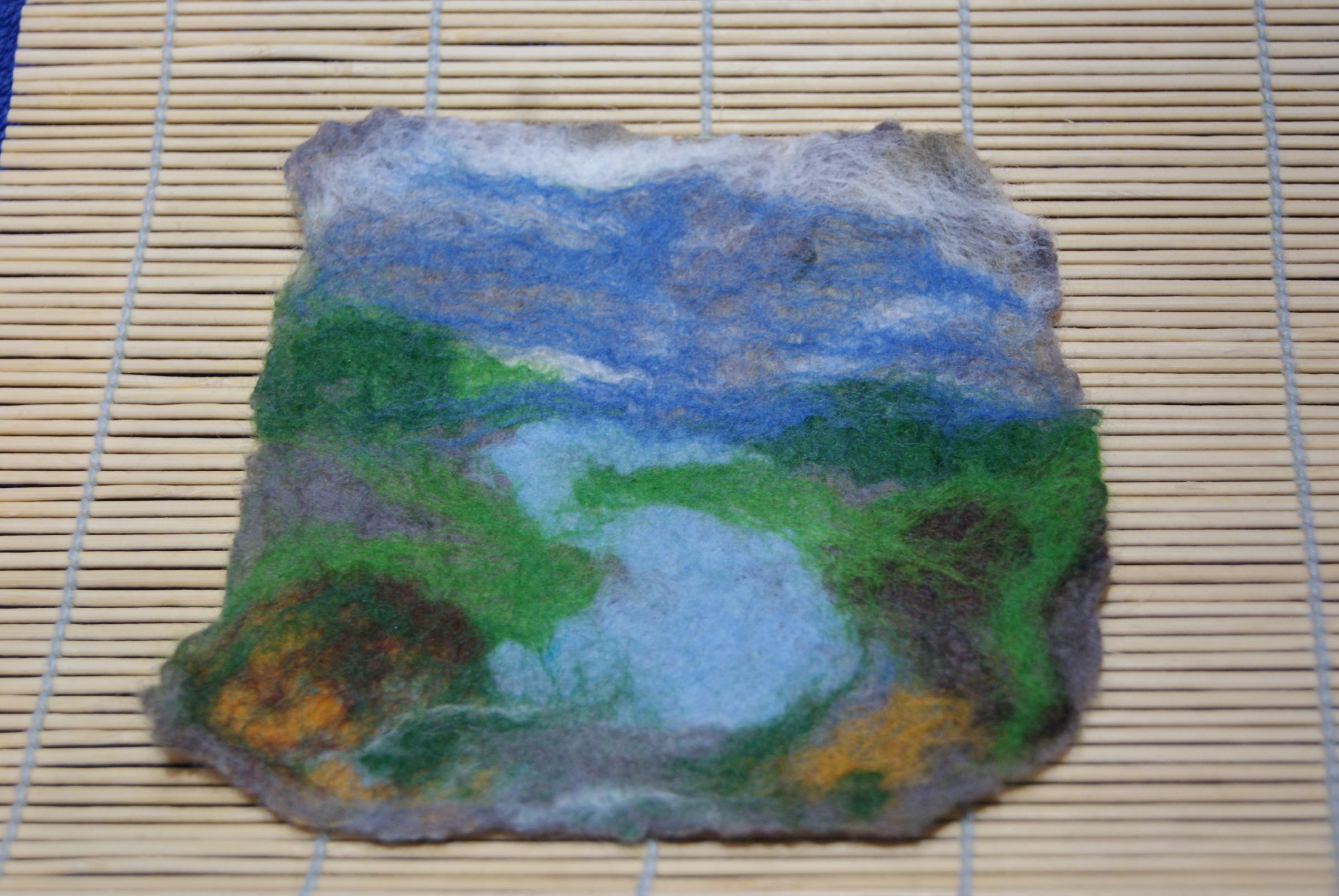 Kids Crafts - Felted Pictures