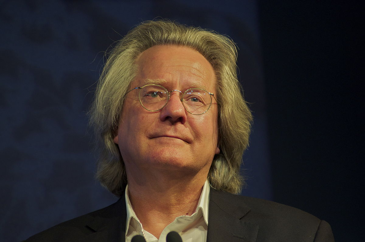 SPEAKER: A C Grayling at the Edinburgh Book Festival. Picture by Ian Scott