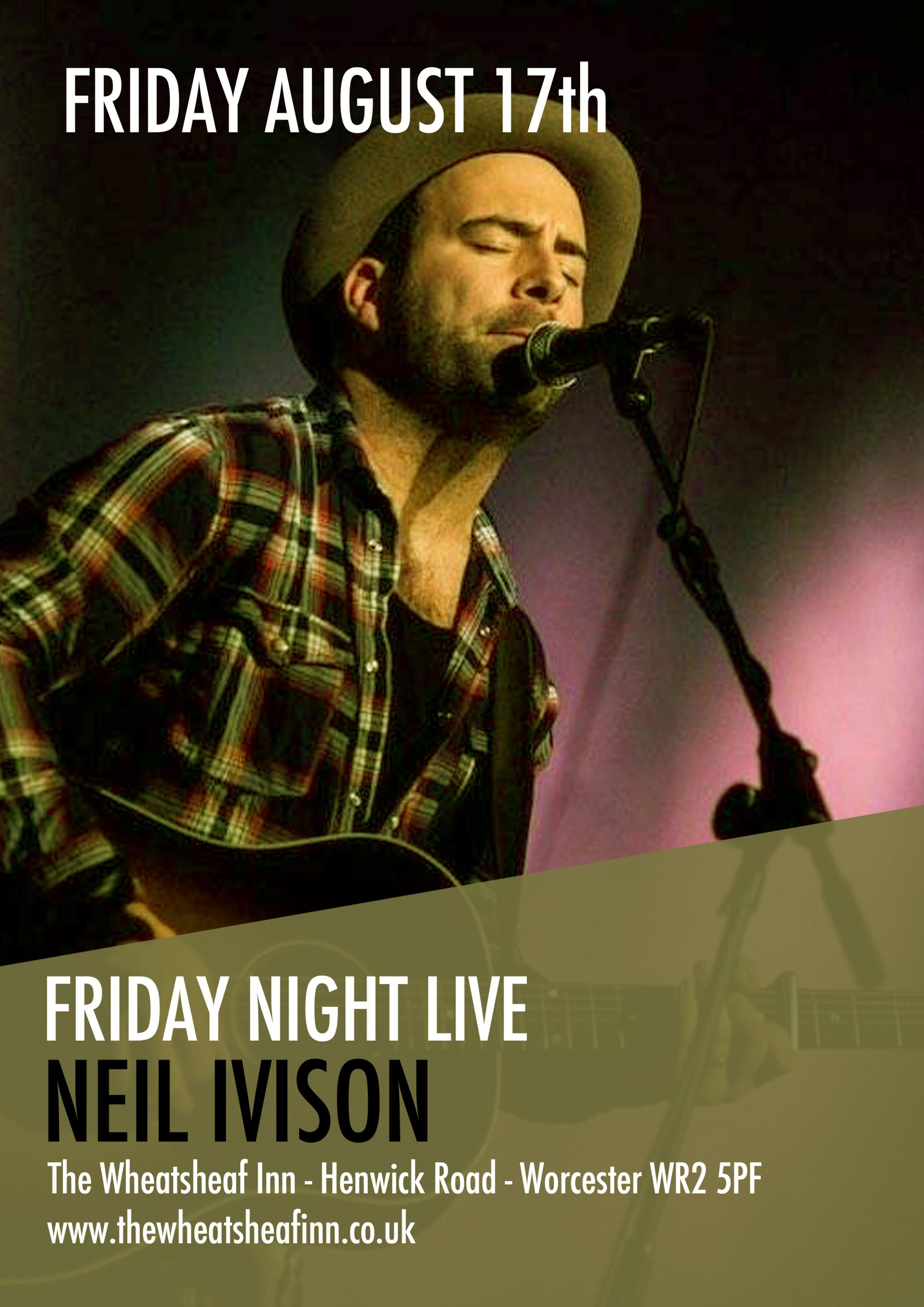 Friday Night Live with Neil Ivison