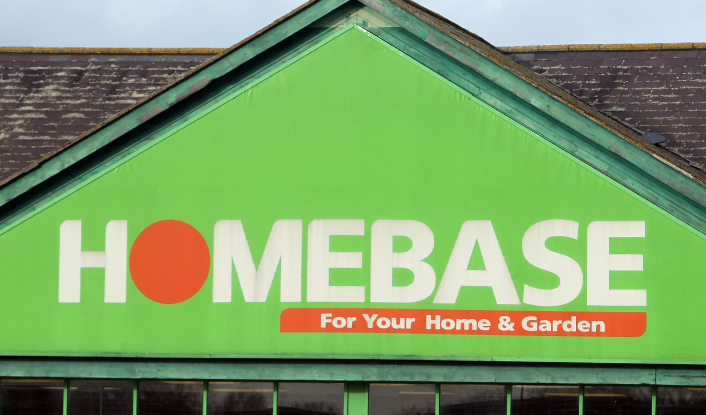File photo dated 18/01/16 of a Homebase store sign. The DIY chain is closing the stores via a Company Voluntary Agreement (CVA), a procedure used by struggling firms to shut under-performing shops. PRESS ASSOCIATION Photo. Issue date: Tues