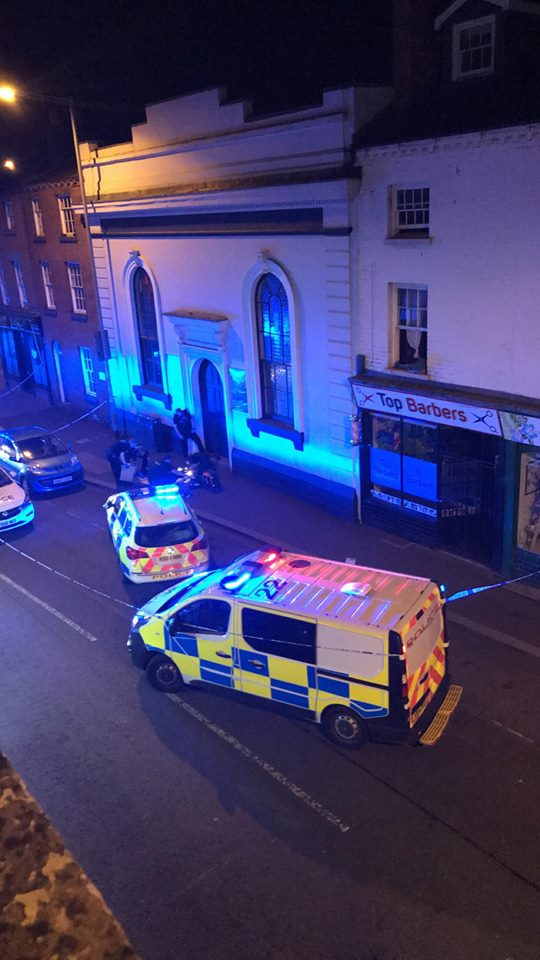 EMERGENCY: A man has been seriously injured after he got into an argument with his boyfriend in Worcester, according to a witness.