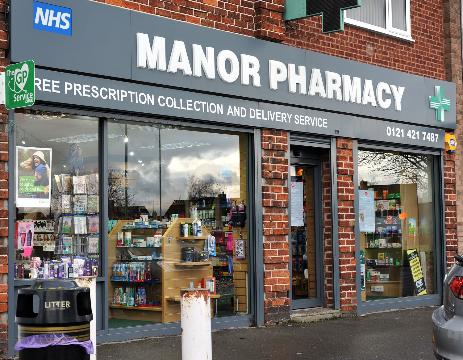 Manor Lane Post Office will reopen in October at Manor Pharmacy.