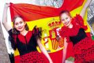 Kempsey Primary School: Pupils celebrate spanish week with fiery flamenco