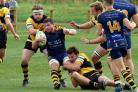 WNJAWorcsRugby..Worcester Rugby Club,opposite Sixways-Action v Droitwich RFC.