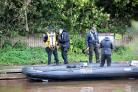 Police divers search the river Severn in hunt for missing Tom Jones