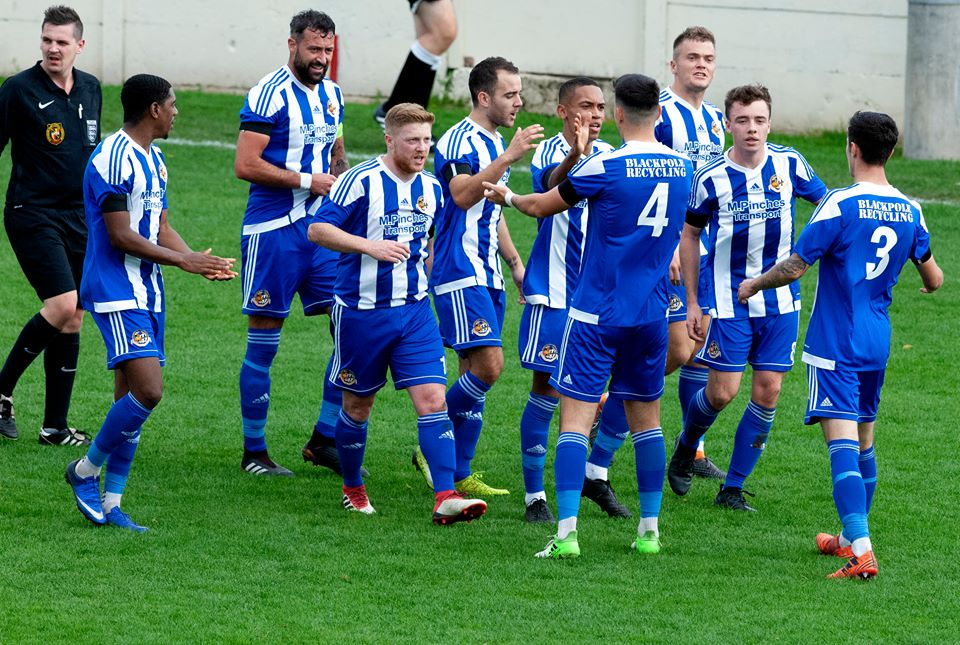 NICE ONE: Tyler Weir is congratulated by his Worcester City team-mates. Pic: Paul France
