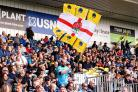 Worcester Warriors fans. Picture: Robbie Stephenson/JMP