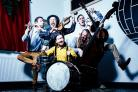 LIVELY: The folk band with the strangest name