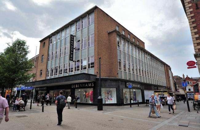 b6a79b4cb3ed7 Fears for the future of Debenhams in Worcester after owners unveil ...