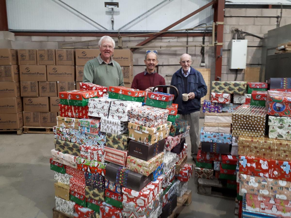 Operation Christmas Child: Urgent plea for warehouse space to help ...