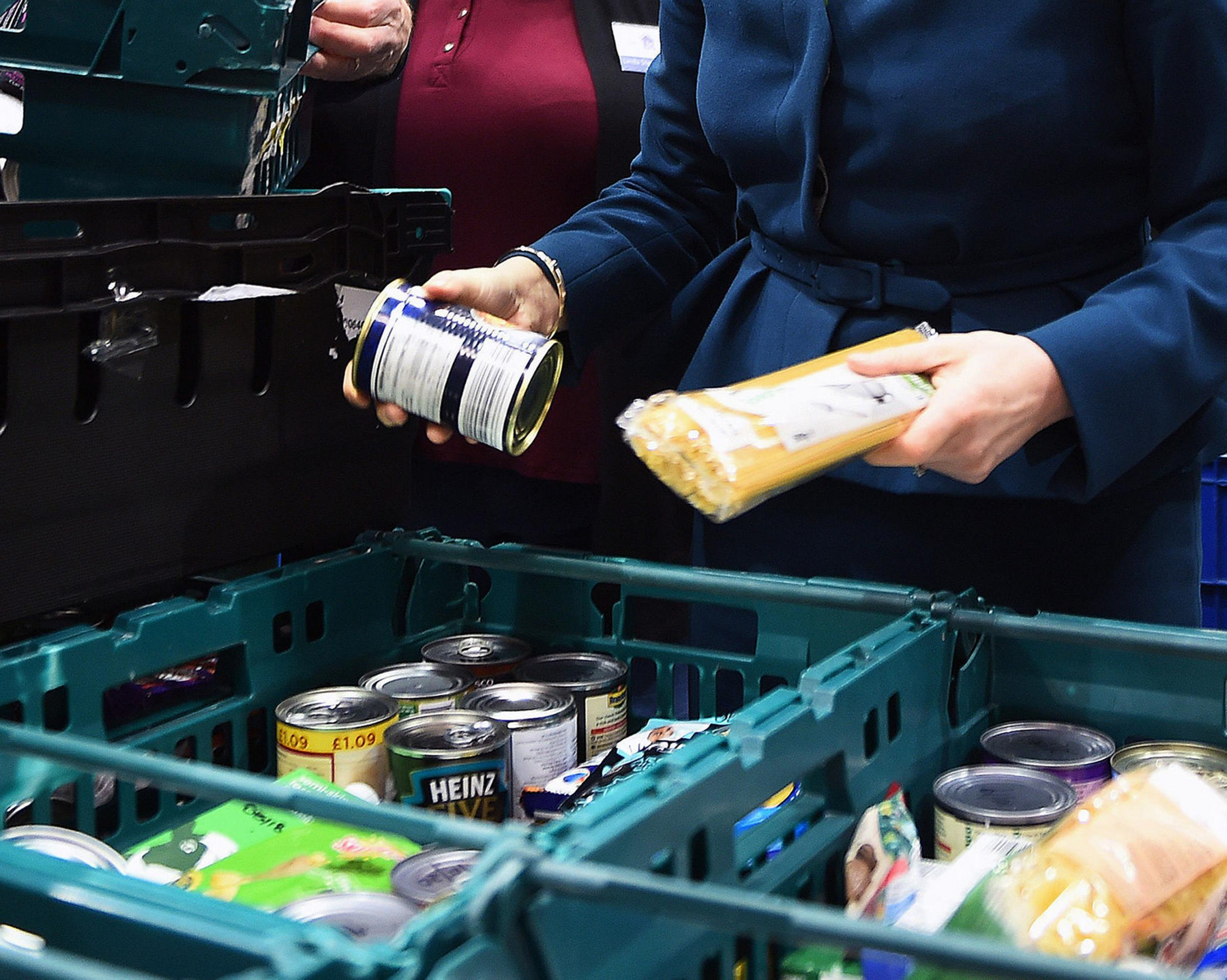 PROBLEM: Some have had to turn to foodbanks because of Universal Credit. Picture by Andy Buchanan/PA Wire.
