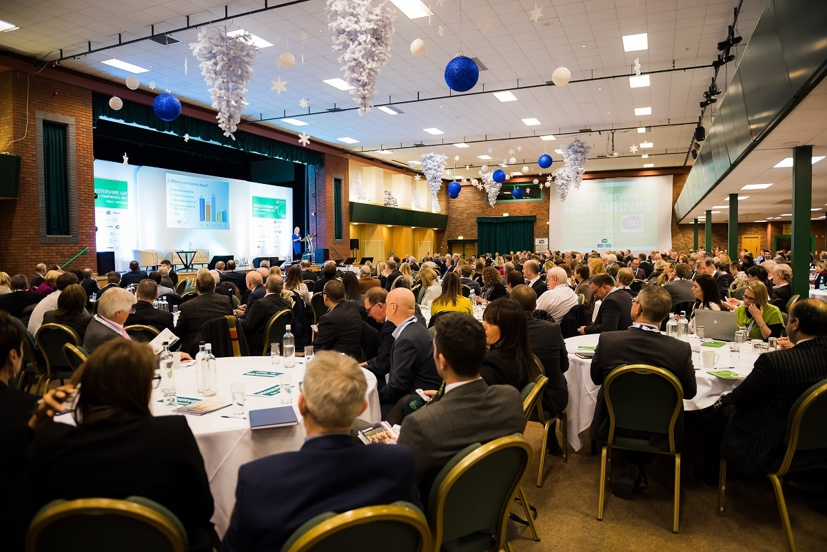 CONFERENCE; Few spaces left for this year's Worcestershire LEP conference. Picture: Greg Faulkner +44(0)77898033