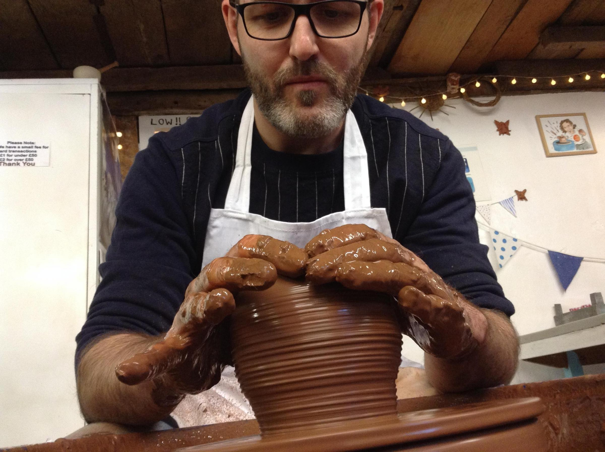 Potter's wheel one day course - Sat 12 Oct