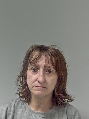EVICTED: Leeanne Edwards was arrested after allowing drug dealers to deal from her home