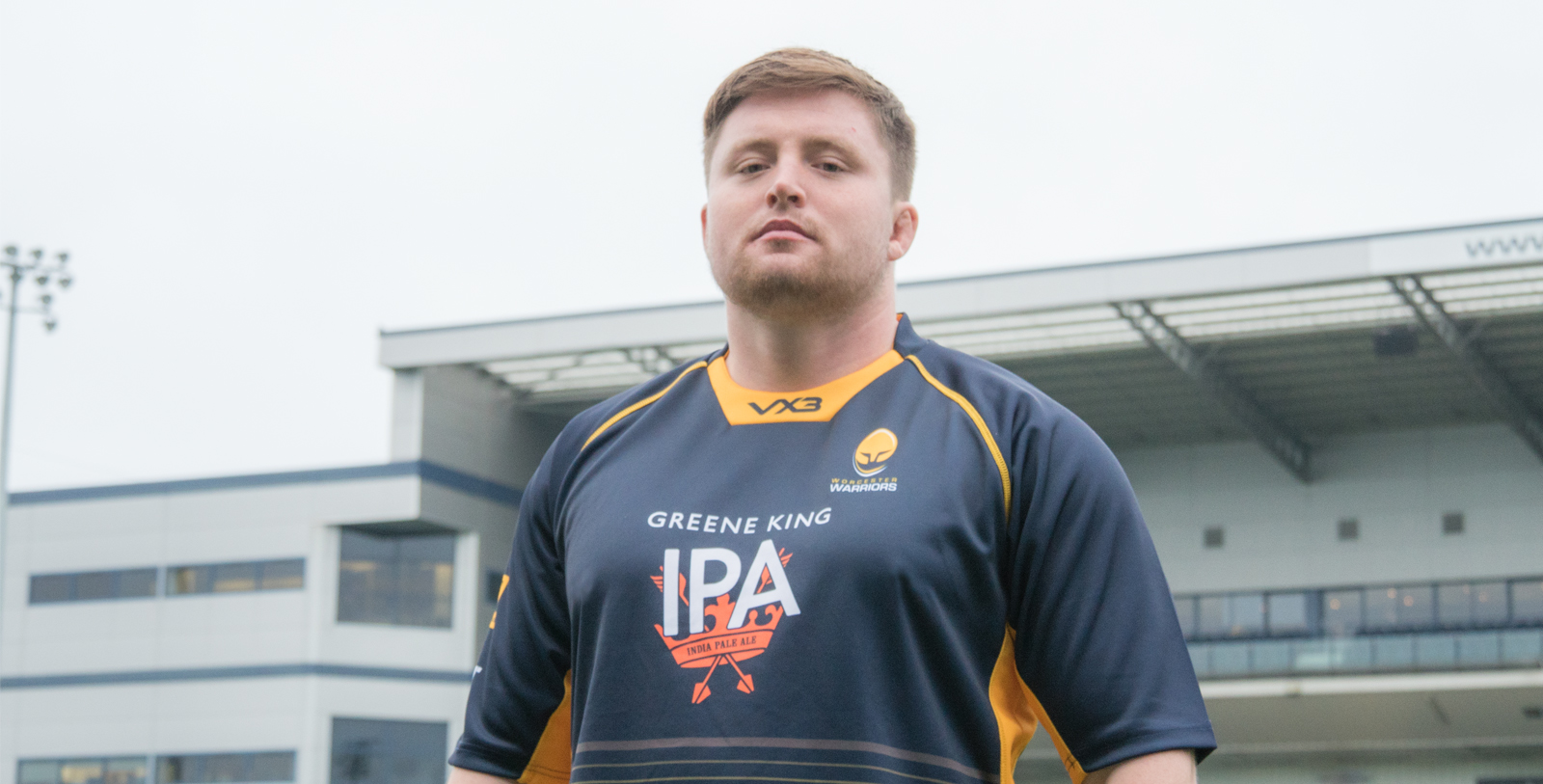New recruit Jack Cosgrove is unveiled at Sixways