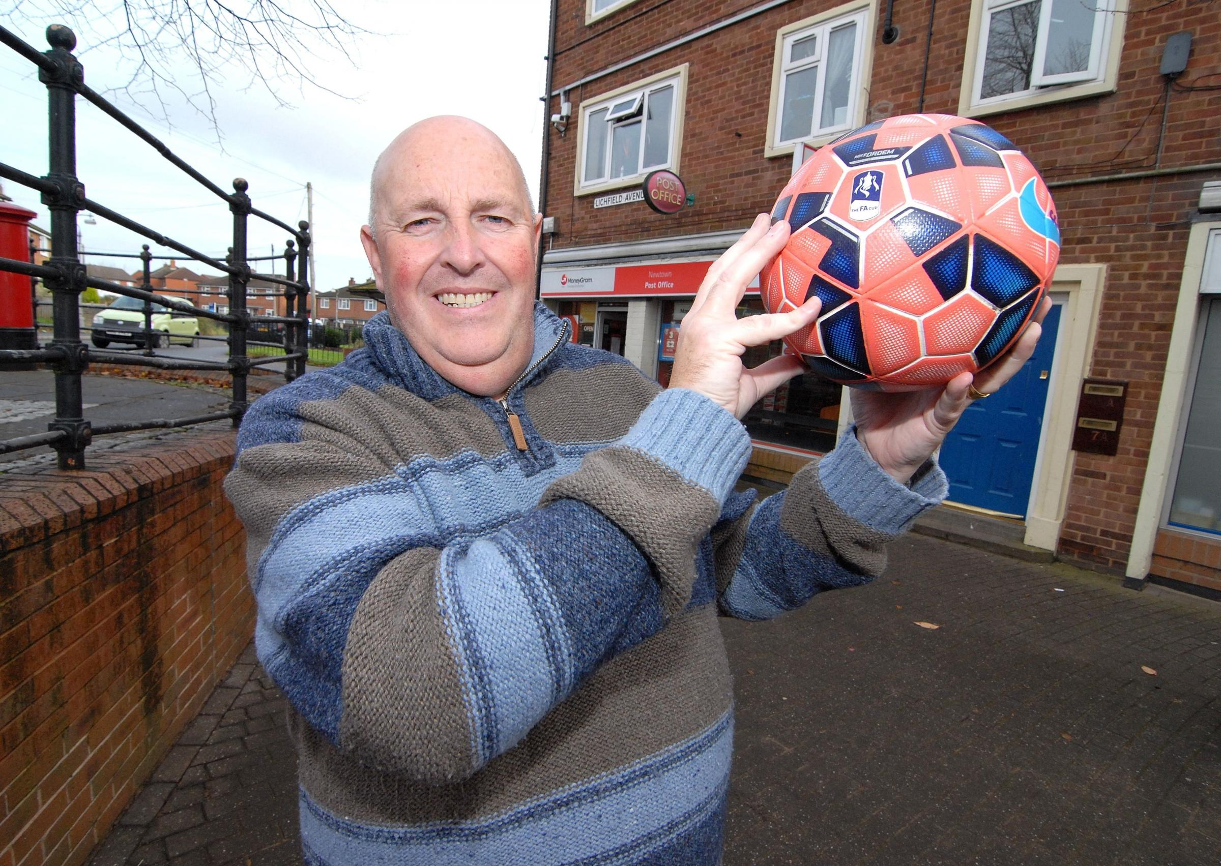 CASH PLEDGE: Worcester City chairman Steve Goode. Picture: Nick Toogood