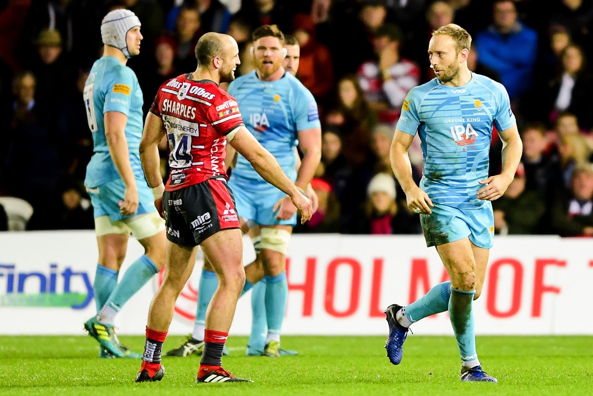 Chris Pennell and Charlie Sharples. Picture: Ryan Hiscott/JMP