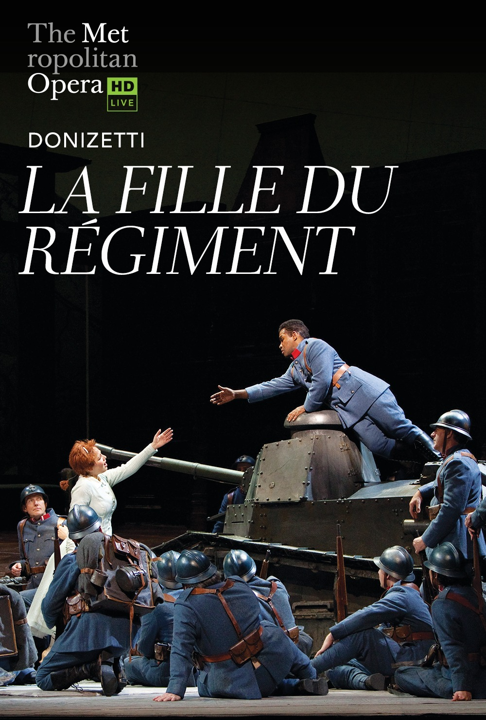 Live from New York Met: La Fille du Régiment