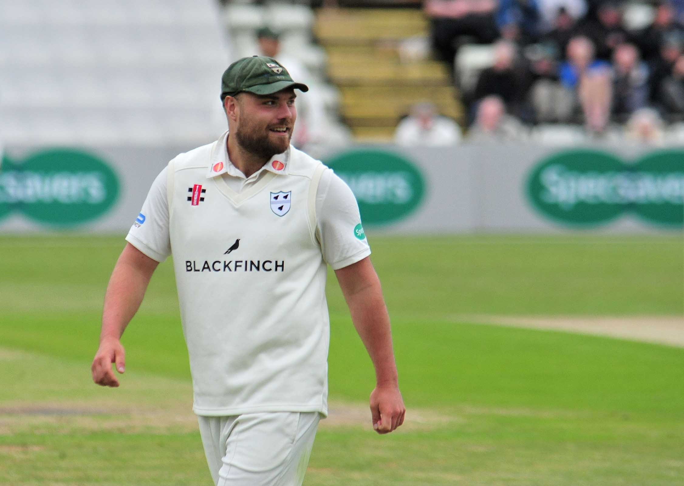 Worcestershire skipper Joe Leach is back in training following his injury. Picture: JONATHAN BARRY