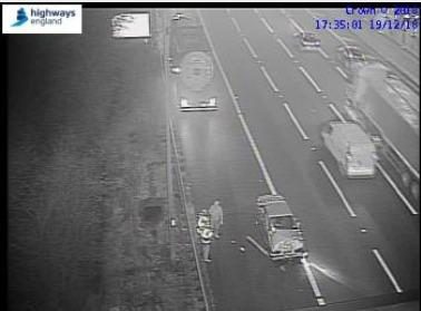 One lane closed after M5 accident | Worcester News