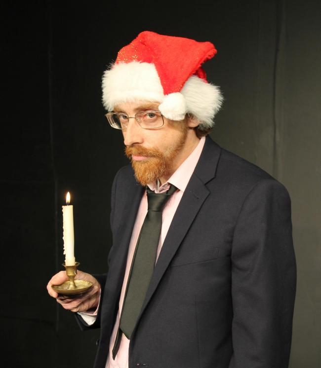 Ghost Of Christmas Present Costume.The Ghost Of Christmas Past And Present Worcester News