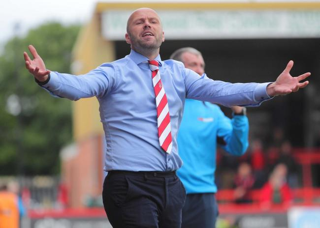Kidderminster Harriers: Boss MacFarlane leaves as chairman takes charge