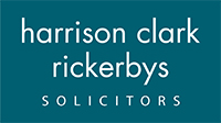 Worcester News: Harrison Clark Rickerbys Solicitors logo