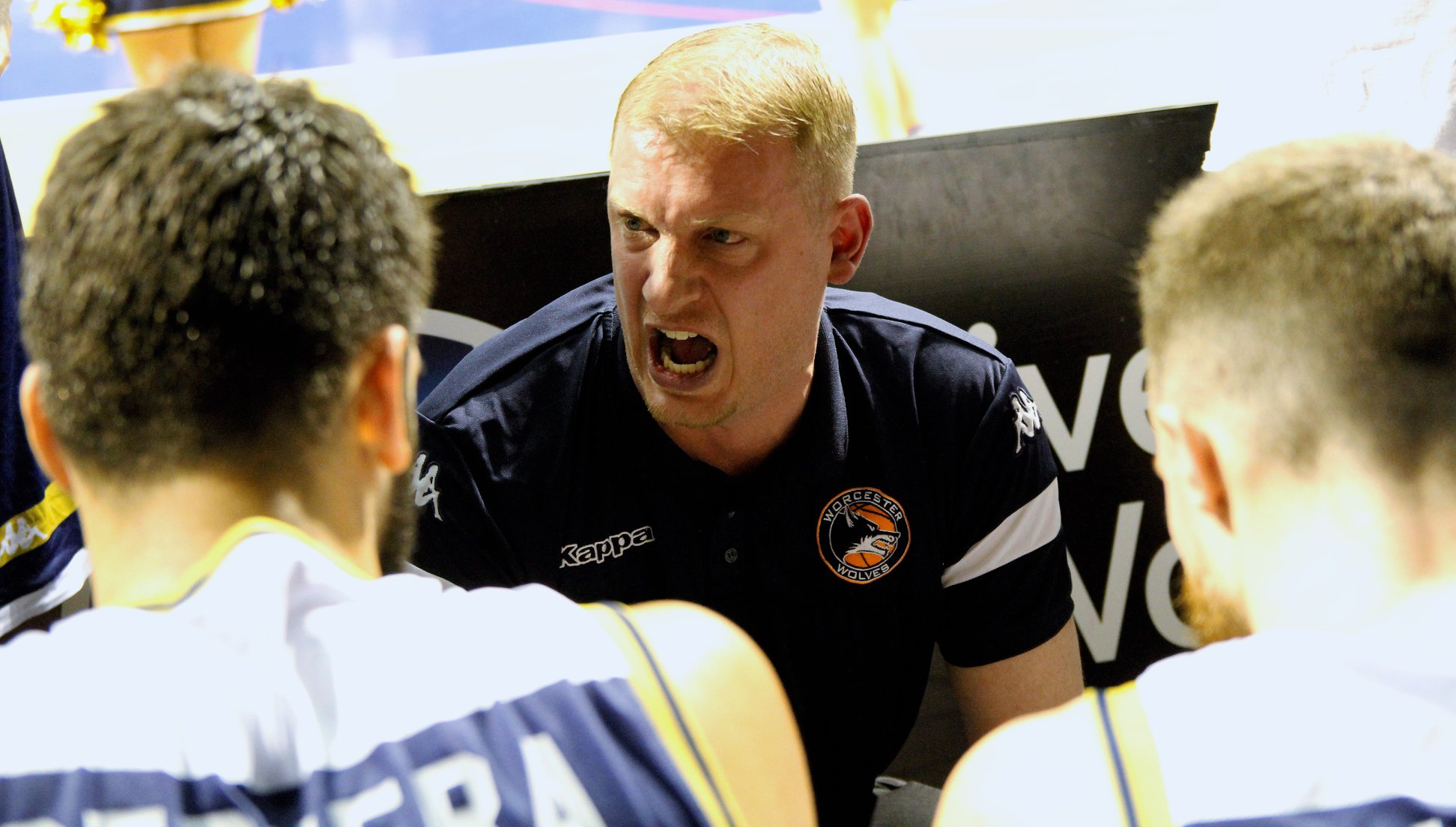 Worcester Wolves head coach Ty Shaw. Picture: KEITH HUNT