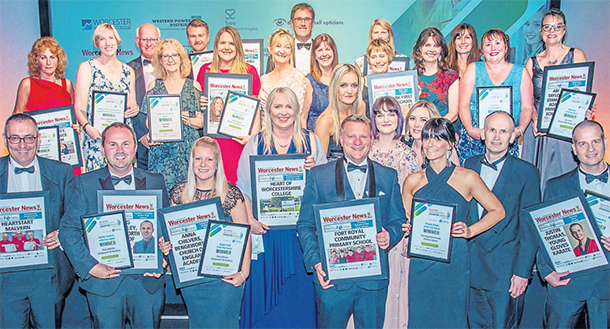 Worcester News: The Worcestershire Education Awards Winners from 2018
