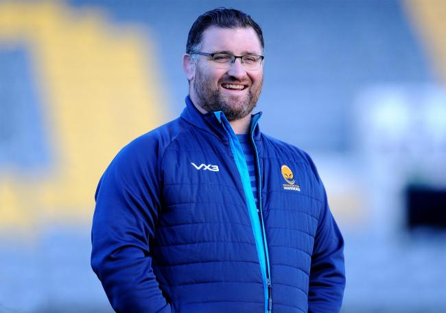 Worcester Valkyries director of rugby Roy Davies. Picture: Nizaam Jones/JMP
