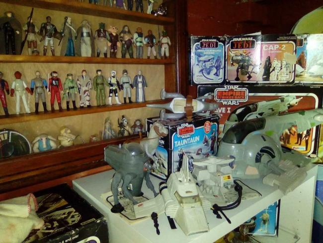 Exhibition Of 70s Toys From Collector Of Childhood Memorabilia