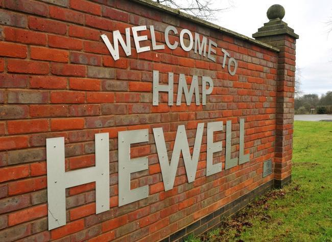 PUNISHMENT: Mutinous prisoners at HMP Hewell in Redditch had a total of 40 years added to their sentences