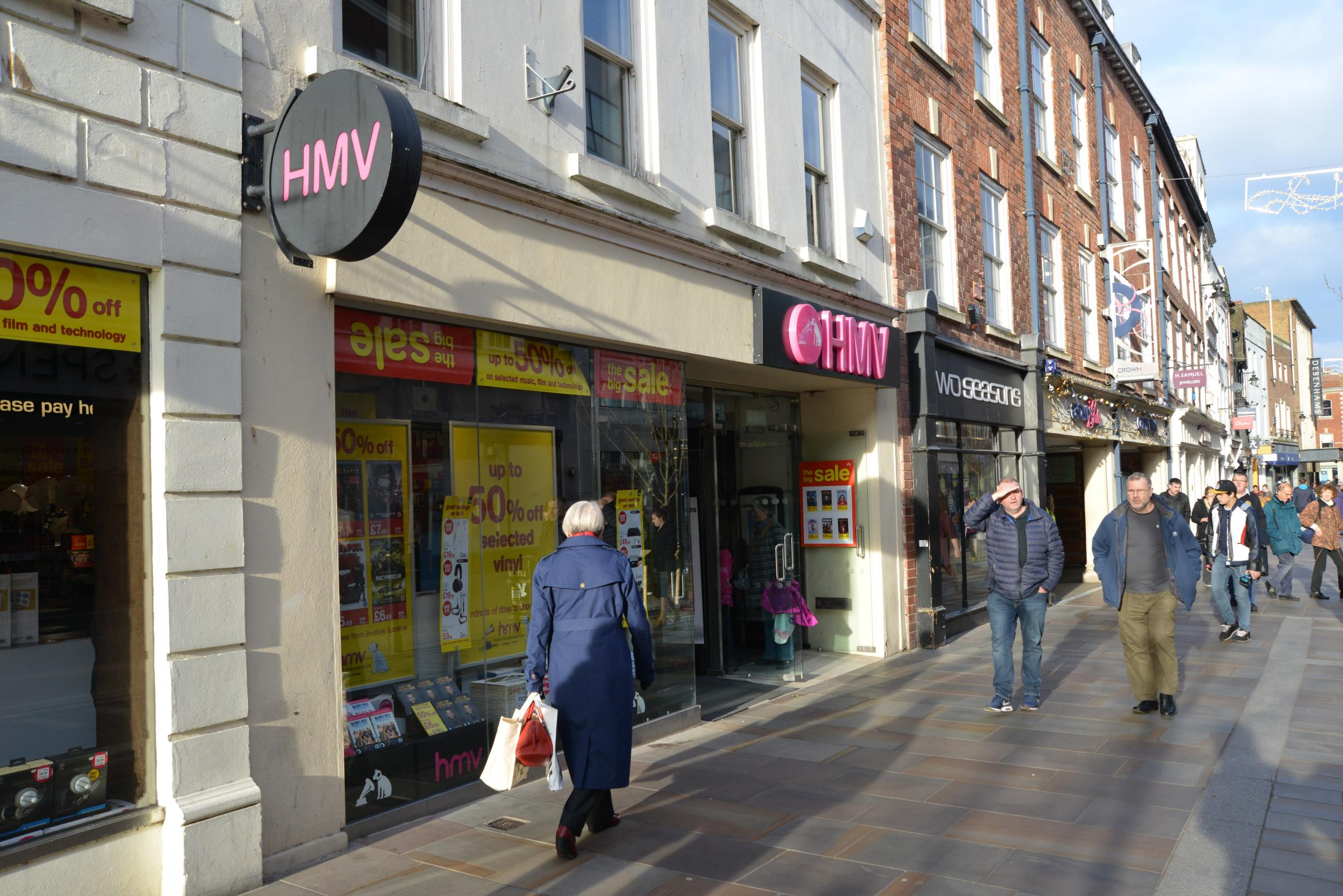 SAFE: Worcester's branch of HMV will not be closing