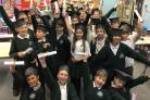 AWARD: Year six pupils at Great Malvern Primary School