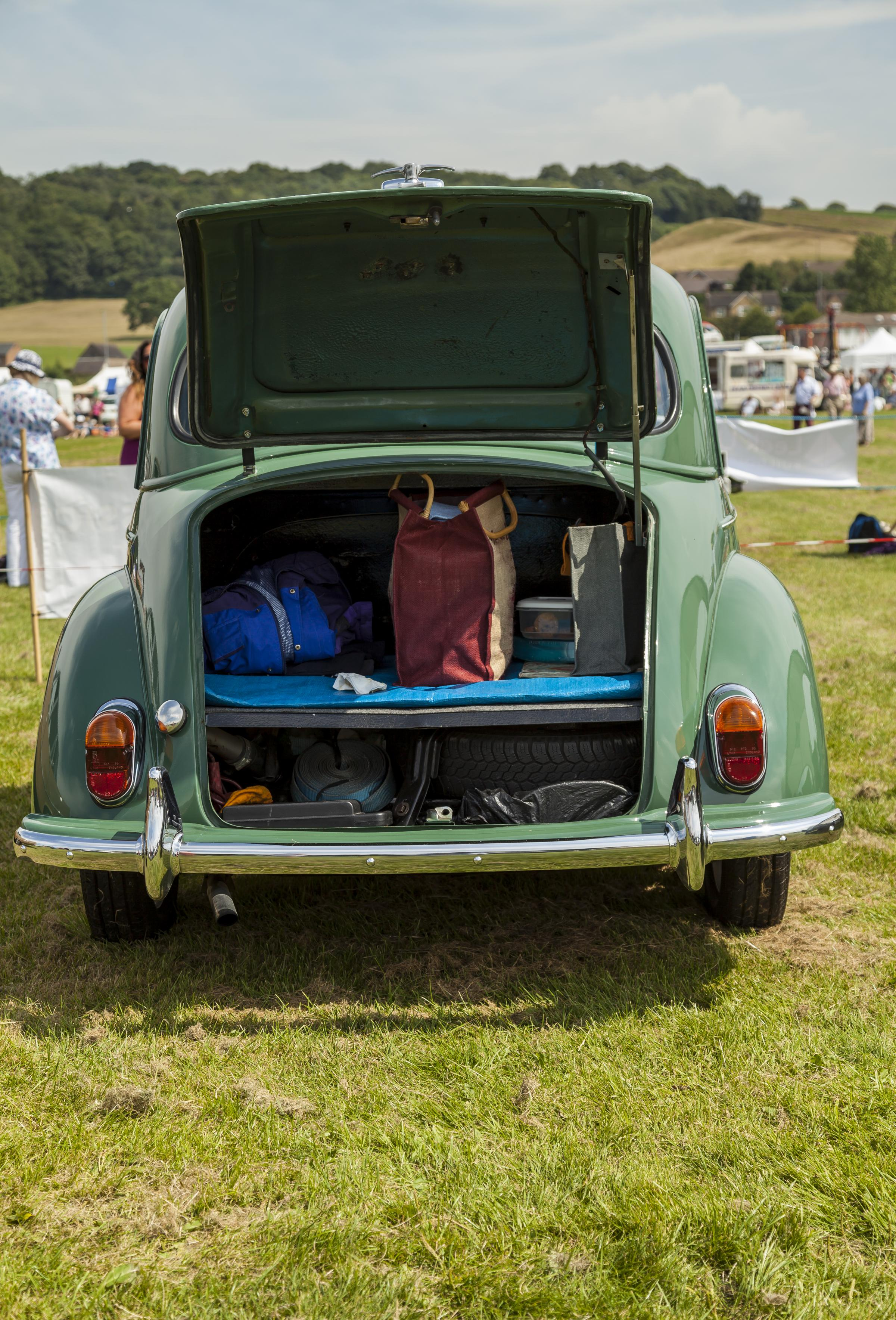 FOOD FOR THOUGHT: Morris Minor Classic car