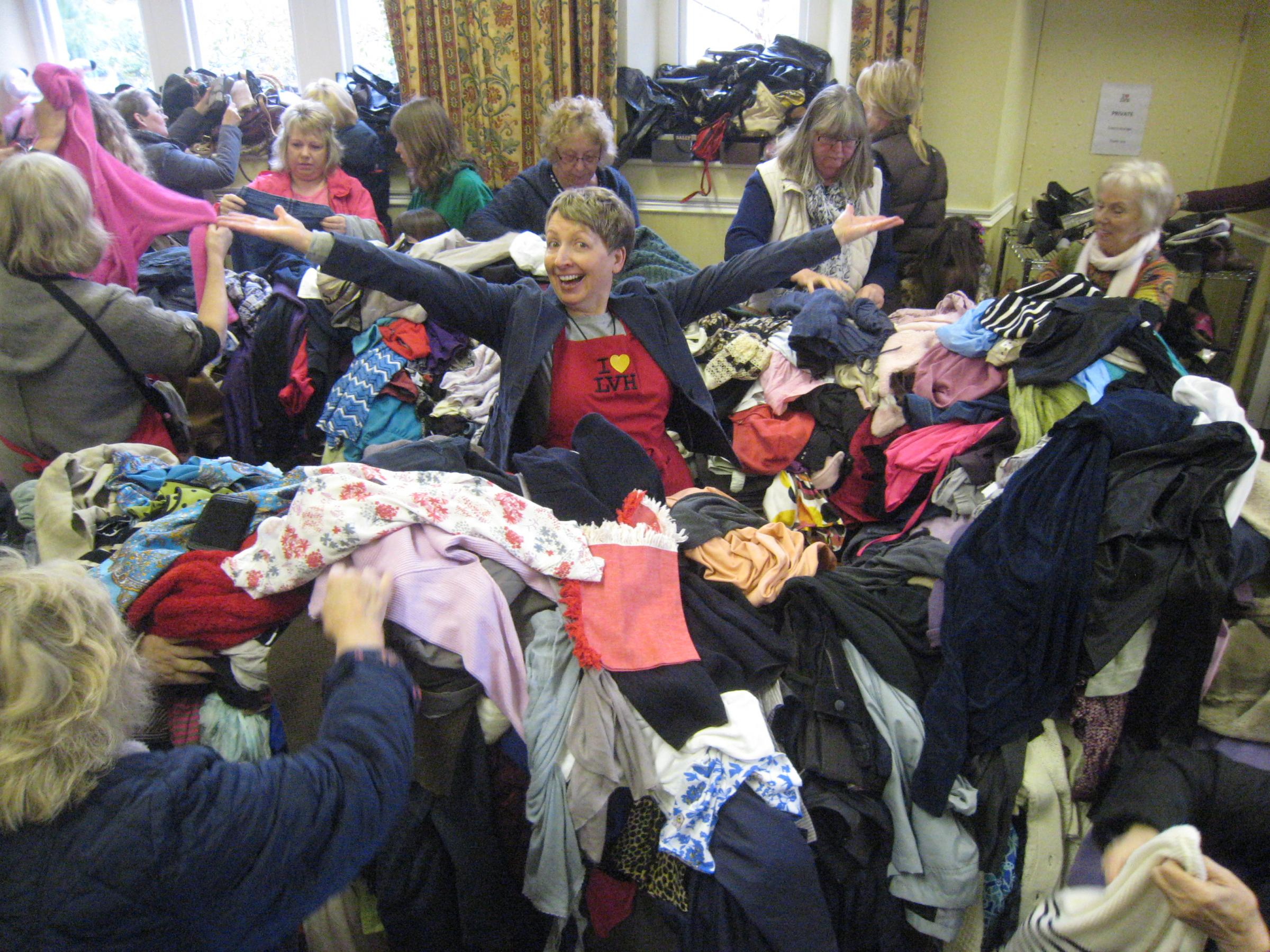 Rumble in the Jumble Sale at Linton Village Hall