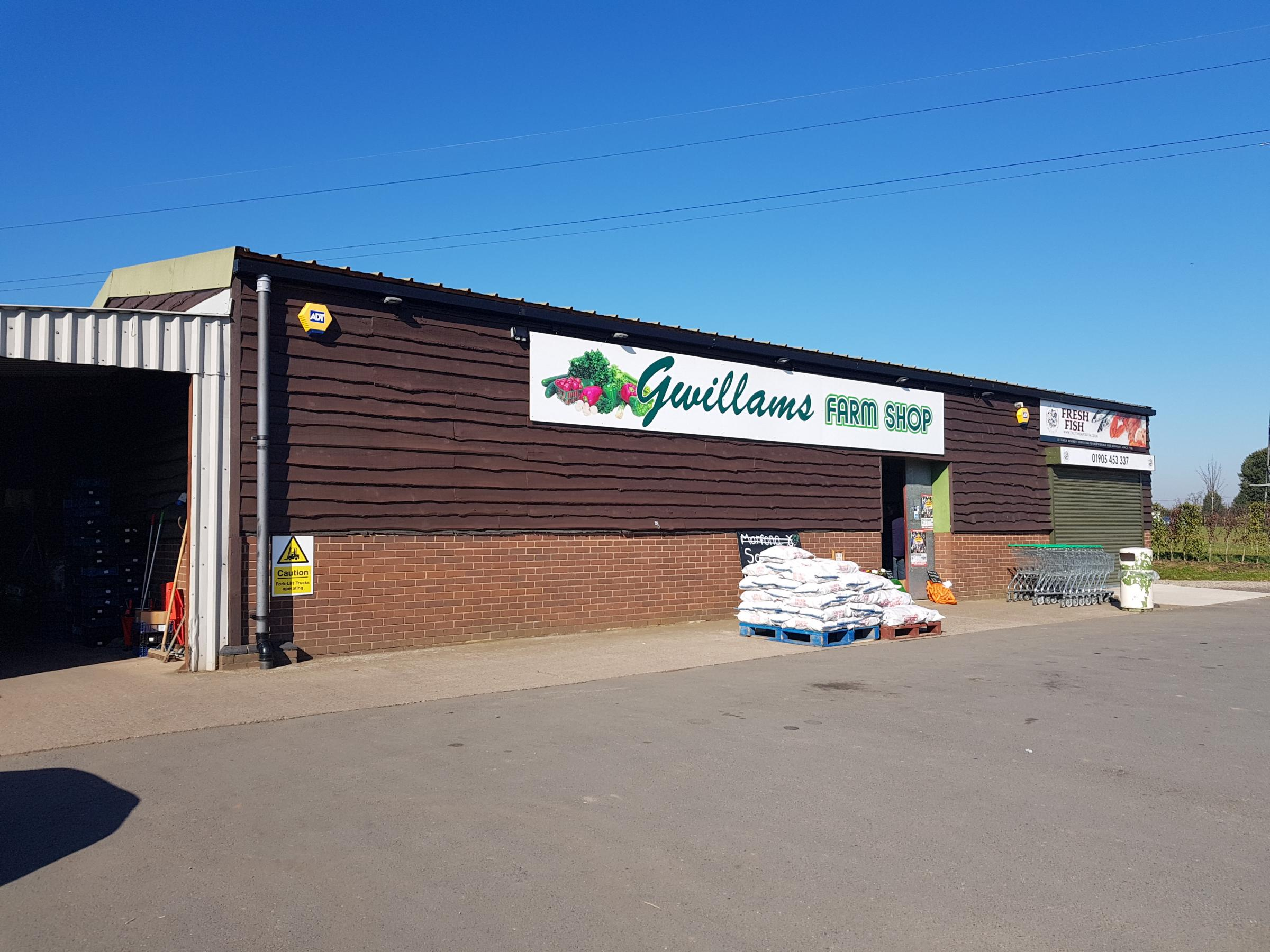 SHOP: Gwillams Farm Shop in Bevere, Worcester
