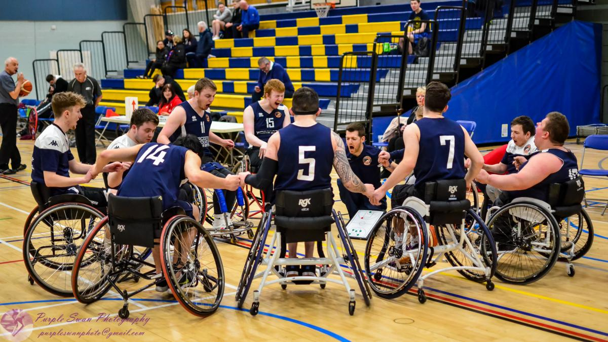 Basketball: Worcester Wolves\' wheelchair players do battle ...