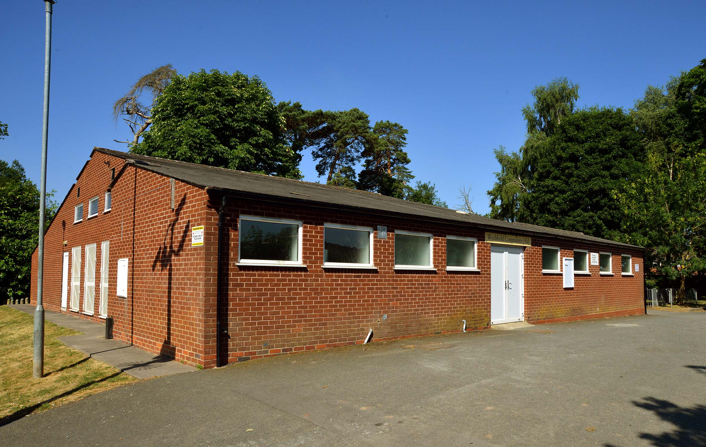 COUNCIL: Wychbold Village Hall, home of Dodderhill Parish Council