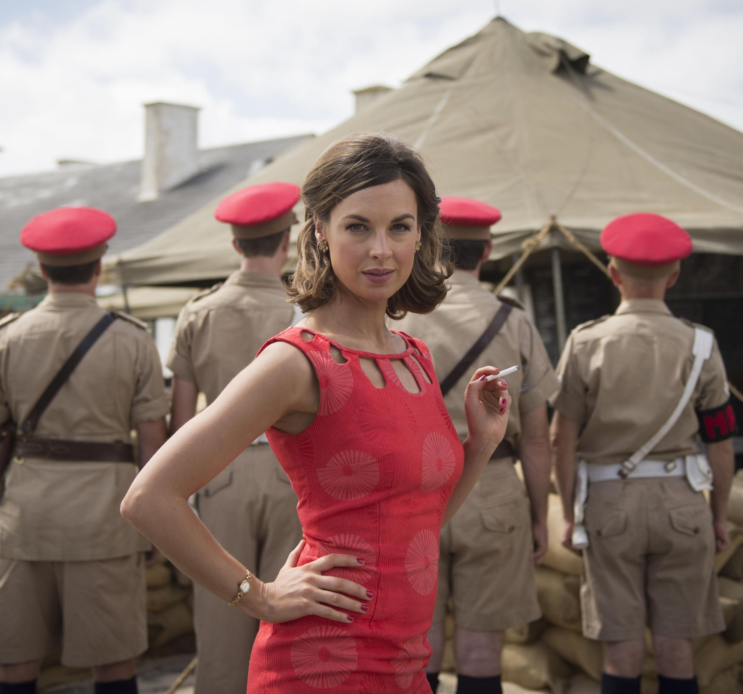 Jessica Raine, pictured as Alison Laithwaite in The Last Post, can be seen on the silver screen in Simon Amstell's Benjamin.